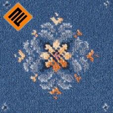 Ковровое покрытие BrintonsRegina  Rosette blue 3-19784