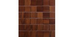 Деревянная мозаика для пола из стен