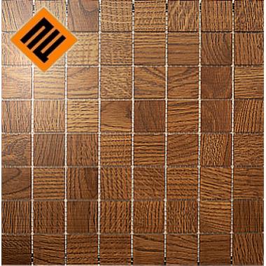 Деревянная мозаика  коллекция 8х8 Дуб Коньяк