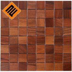 Деревянная мозаика  коллекция 8х8 Орех