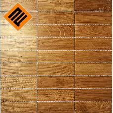 Деревянная мозаика  коллекция 9х3 Дуб