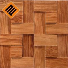 Деревянная мозаика  коллекция  ENFASI 3D Ясень Натур