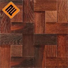 Деревянная мозаика  коллекция  ENFASI 3D Дуб Термо (Thermo Wood)