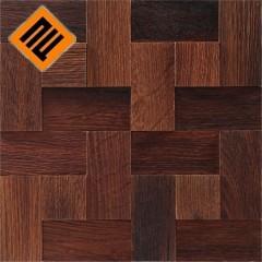 Деревянная мозаика  коллекция  ENFASI 3D Дуб Термо БРАШ (Thermo Wood)