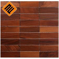 Деревянная мозаика  коллекция 9х3 Орех