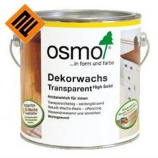 Цветное масло с твердым воском для пола OSMO DEKORWACHS TRANSPARENT 3168 Дуб Антик 0,125 л
