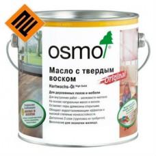 Масло с твердым воском для пола Osmo Hartwachs-Ol Original 3032 Бесцветное шелковисто-матовое 2.5 л